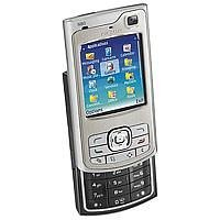 Nokia N80 smooth stainless UMTS Handy