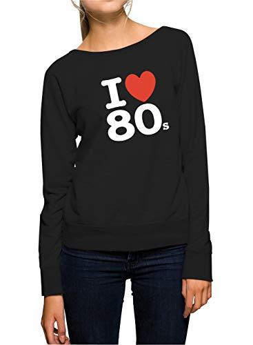Certified Freak Love 80s Sweater Girls Black S