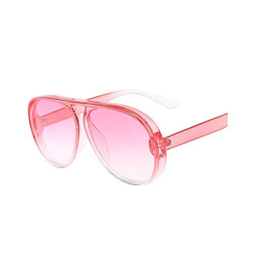 Sport-Sonnenbrillen, Vintage Sonnenbrillen, Pilot Sunglasses Women/Men Wide Frame Transparent Sun Glasses Large Blue Fashion Vintage Retro Driving Oculos De Sol 40 C6