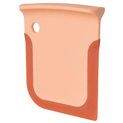 berghoff-leo-teigschaber-silikon-eingefasst-orange