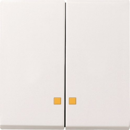 Gira 0631 03 Serienwippe 063103 Kontrollfenster System 55 rw, Weiß