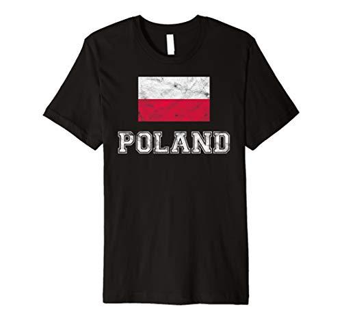 Poland Flagge I Polen Männer Frauen Kinder T-Shirt