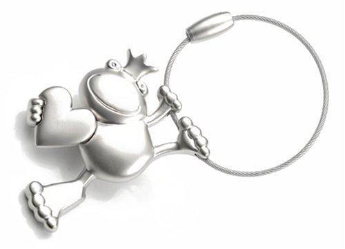 troika-king-frog-portachiavi-in-metallo-opaco