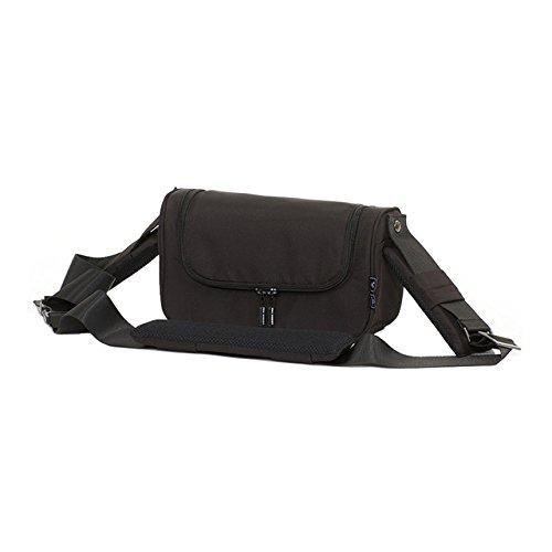 ABC Design 9117900Organizer Classic Handtasche mit abnehmbarer oder Gürteltasche, schwarz
