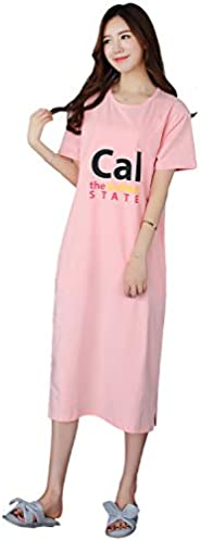 Heypro Long Nightgown with Pocket for Women
