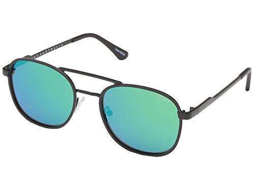 Quay Australien Männer DER Apollo Sonnenbrille Einheitsgröße Blau Grün Schwarz