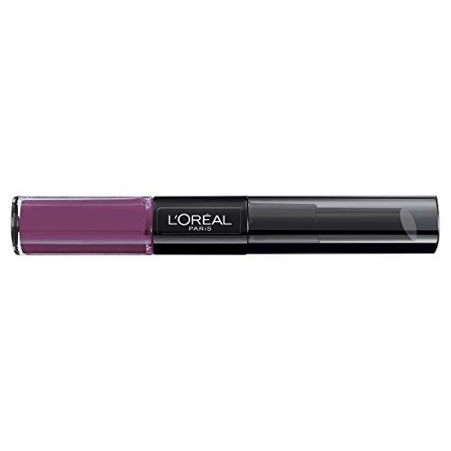 L'Oreal Paris Lippen Make-up Infaillible Lippenstift, 209 Violet Parfait/Liquid Lipstick für 24...