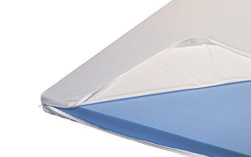 H2 Premium Topper Matratzenauflage Kaltschaum mit Bezug RG 45 Höhe 8 cm (100 x 200 cm)