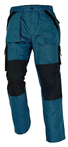 Stenso MAX - Pantaloni da lavoro in cotone da uomo - grigio 54