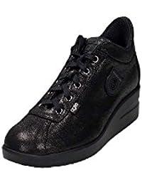 338fcb3a1a32e Agile by Rucoline Sneakers Donna Nero 226 A PASHA nuova collezione autunno  inverno 2016 2017