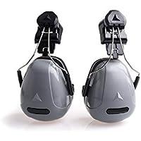 SUPRERHOUNG Uso Industrial Reducción de Ruido Audífonos Protección auditiva Protectores auditivos para el Descanso y el Trabajo (Gris)