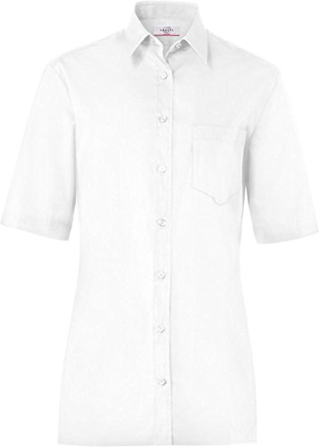 GREIFF Bluse CLASSIXX, kurzarm (34, weiß)