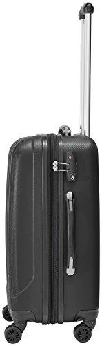 Packenger Velvet Koffer, Trolley, Hartschale 3er-Set in Schwarz, Größe M, L und XL - 5