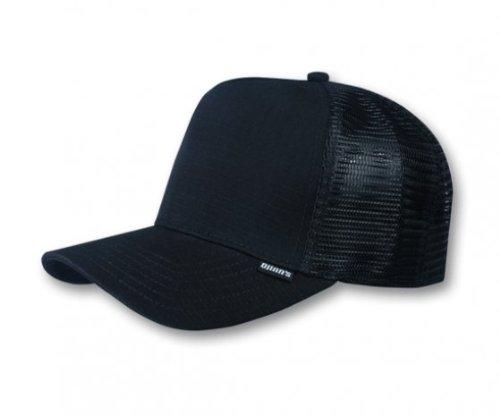 Djinns Herren Trucker Caps Rib-Stop High schwarz Verstellbar