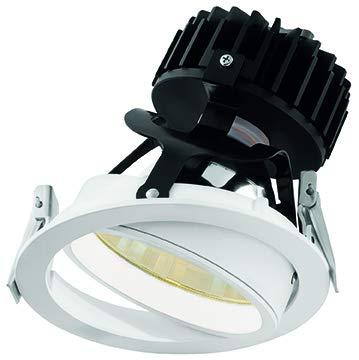 Wiva Lighting Downlight WPL ilmen-s schwenkbar 27W WW Leuchtstofflampe weiß -