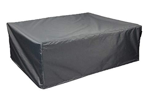 Hentex Abdeckung Schutzhülle für Lounge Gartenmöbelset,Grau, 250x100x70H cm