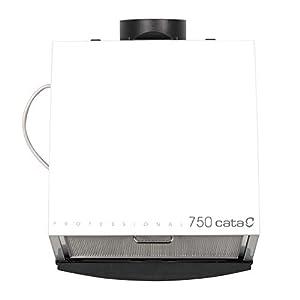 Cata Cocina silencioso | Modelo 750 | Ventilador Extractores de Aire | Color Blanco, 105 W, 49 Decibelios, Estructura de…