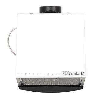 Cata 750/750L Humos Modelo Professional 750 Cocina silencioso | Ventilador Extractores de Aire | Eficiencia energética D | Color Blanco, 105 W, 49 Decibelios, Estructura de Metal