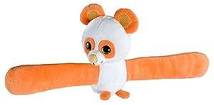 Wild Republic- Huggers Scent Panda Aroma a melocotón, Peluche de Pulsera con Abrazo de 20 cm, Color Naranja (1)