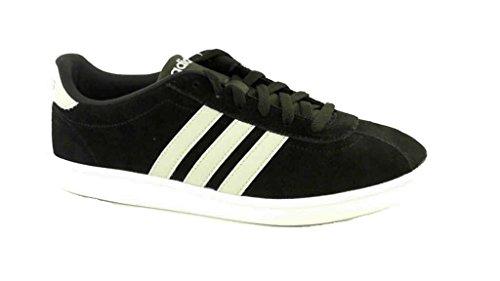 Adidas Deixou Esportes Sneaker Homens Tribunal Preto Dos qx17E1Ov