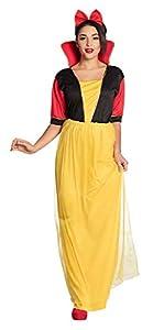 Boland 83823-Adultos Disfraz Princesa Emerald, Amarillo