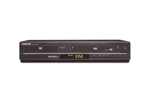 Samsung DVD-V 6600 DVD-Player/Videorekorder schwarz