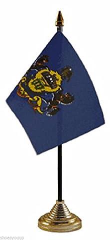 Pennsylvania USA American States Polyester Table Desk Flag 6