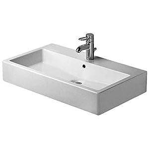Duravit Vero – Lavabo vero 80cm encimera diseño blanco