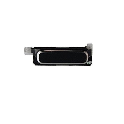 FONFON Homebutton Home Button Haupt Tastatur Tasten Knopf Menü Taste für Samsung Galaxy S4 i9500 i9505 Schwarz