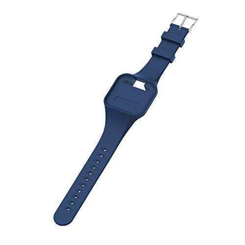 7Lucky Uhrenarmband Kieselgel,Mode Armbänder,Ersatz Band Smart Watch Band Gurt Handgelenk Armband Kompatibel für Golfbuddy Voice + / Voice 2 / Voice 2 GPS (Blau)
