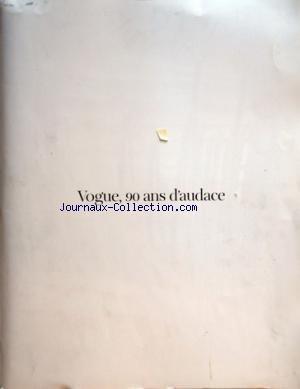 VOGUE PARIS [No 911] du 01/10/2010 - 90 ANS D