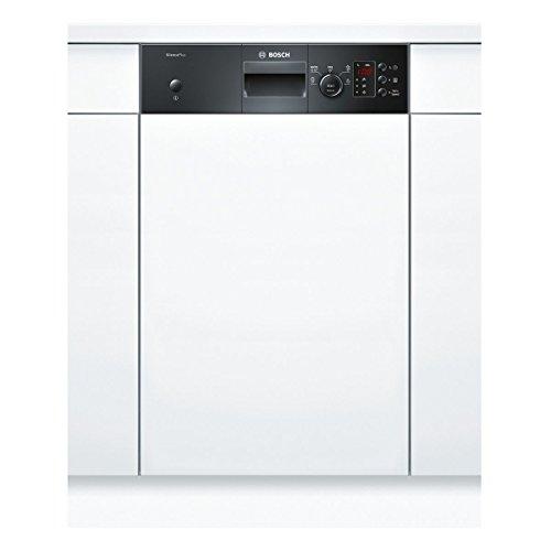 Bosch SPI50E96EU Semi intégré 9places A+ lave-vaisselle - Lave-vaisselles (Semi intégré, Taille maximum (60 cm), Noir, boutons, Rotatif, 1,75 m, Acier inoxydable)