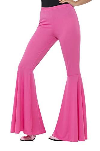 SMIFFYS Pantaloni a zampa, rosa, da donna