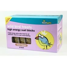 BELL Bestpets Suet Block Insect Variety 8pk pack of 1 (Bell Suet)