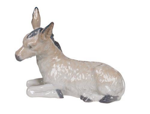 Nao Porcelain by Lladro DONKEY RELIGIOUS COLLECTION 2000310