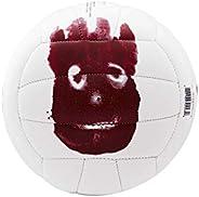 Wilson, Palla da pallavolo, Castaway Mini, Bianco, Mr. Wilson, Pelle sintetica, WTH4115XDEF