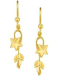 TBZ - The Original 22k Yellow Gold Drop Earrings