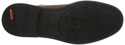 Rockport Classic Break, Stivali Chukka Uomo Brown (Dark Brown Leather)