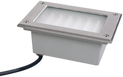 Paulmann 98749 Spec. EBL Set Boden LED 3W 230V 165x103mm Edelstahl/Metall von Paulmann Leuchten bei Lampenhans.de