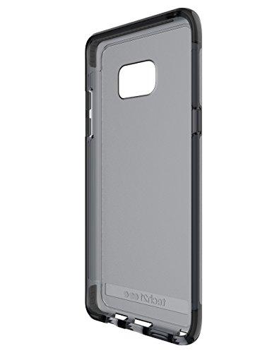 Tech21 Evo Mesh Schutzhülle Case Widerstandsfähig Schlagfest mit FlexShock Aufprallschutz für iPhone 5/5S/SE - Pink/Weiߟ Rauchig Schwarz