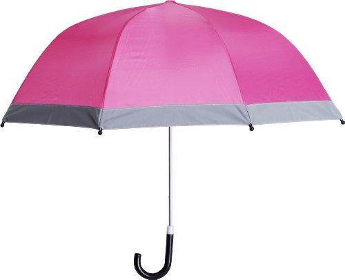 Playshoes Unisex Reflektoren Regenschirm, Rosa (pink 18), Einheitsgröße