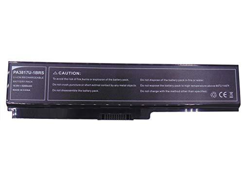 10.8V 5200mAh Laptop Akku PA3817U-1BRS PA3818U-1BRS PA3819U-1BRS PABAS228 für Toshiba Satellite C670 C670D L670 L670D L675 L770 L770D L775 L730 L745 L755 M640 M645 P700 P745 NB510 (Laptop Toshiba Akku)