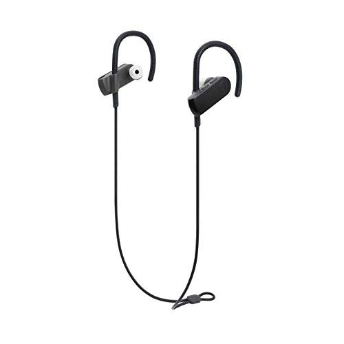 Audio-Technica ATH-SPORT50BTBK Wireless Bluetooth connection Earbuds Headphones Black Best Price and Cheapest