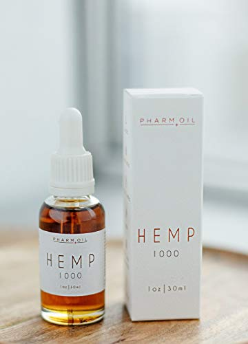 Hanföl | Hemp Oil | Full Spectrum Extract zur Schmerzlinderung 1000 mg, 30 ml -