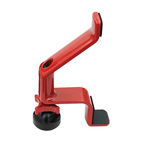 Türstopper, strapazierfähige Legierung, Baby-Schutz, Anti-Rutsch, verhindert Verletzungen, Türkeil-Stopper, rot, Free Size (Sicherheits-roter Uniform)