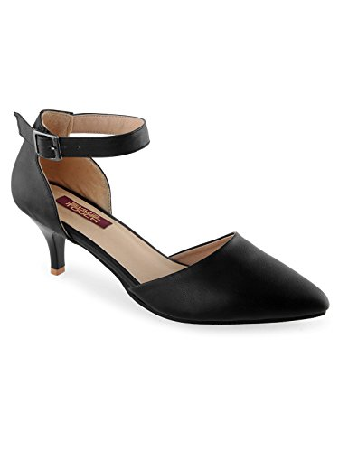 SHUZ TOUCH BLACK PUMP SHOE (SIZE-38)