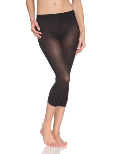 Kunert Damen Legging, 324910 Mini Lace, Gr. 38/40, Schwarz (Black 0500)