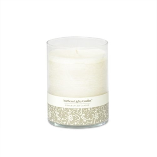 Northern Lights Candles-Candela in vetro, 4,5 cm,