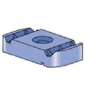 """Preisvergleich Produktbild Unistrut P3013-Eg 1 / 2-Zoll-Kanal Mutter ohne Feder für P3300,  P4000,  P4100 und alle 13 / 16"""" & größeren Kanäle"""
