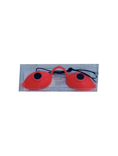 Solarium Schutz Brille Super Sunnies Schutzbrille Original